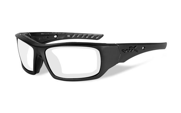 WX Arrow - Matte Black, Clear Lenses 62-16 100