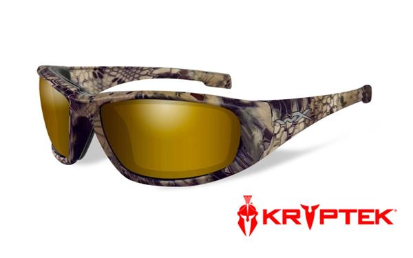 WX Boss - Krytek Highlander, Polarized Venice Gold Mirror (Amber) Lenses 160 68-18