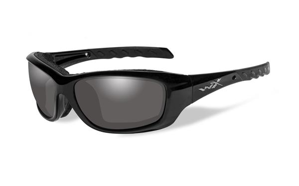 WX Gravity - Gloss Black, Light Adjusting Smoke Grey Lenses CCGRA05