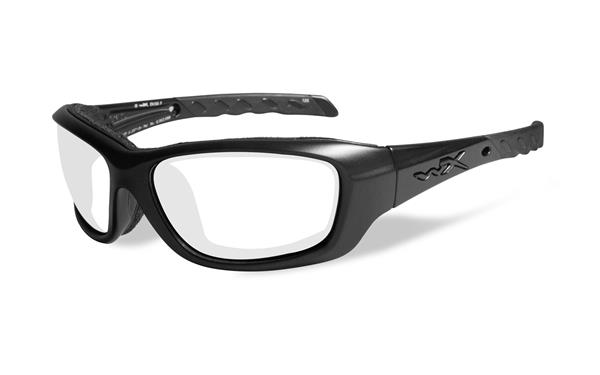WX Gravity - Matte Black, Clear Lenses CCGRA03