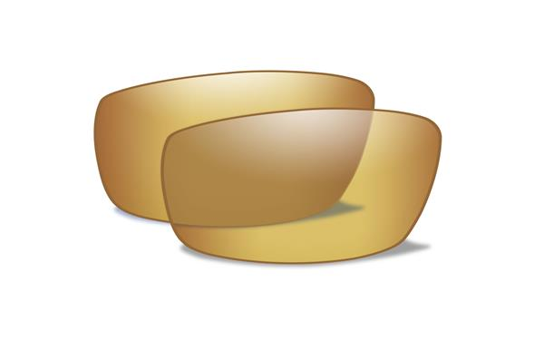 WX Polarized Venice Gold Mirror Lenses