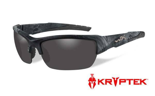 WX Valor - Kryptek Typhon, Polarized Smoke Grey Lenses 140 70-18